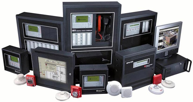 Fire alarms and fire detection systems for educational facilities, airports, seaports, construction, commericial applications, correctional facilities, home and residential